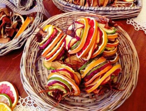 Dried fruit bells