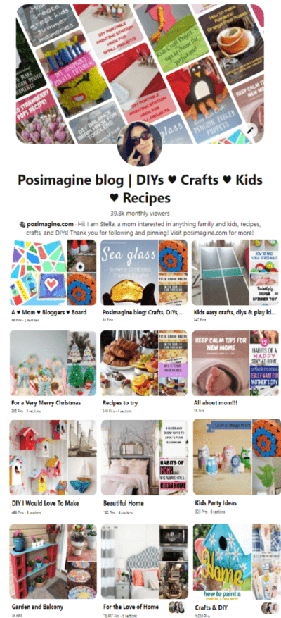 posimagine pinterest pop up